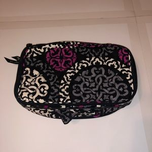 Vera Bradley Large Blush and Brush Travel Case